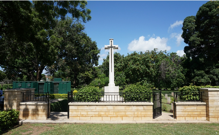 The Commonwealth war graves Mbaraki cementary photo by CWGC