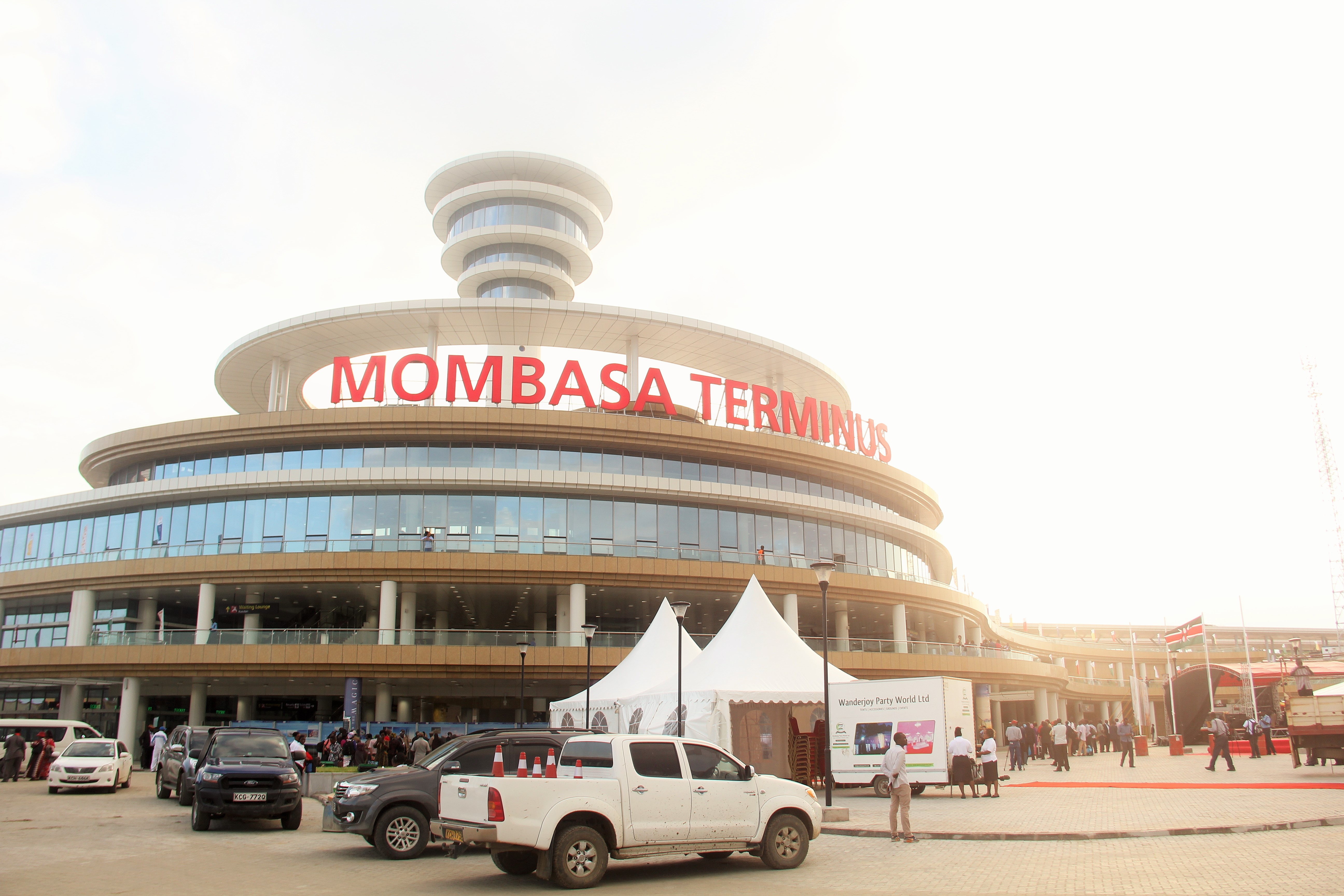 Mombasa terminus.