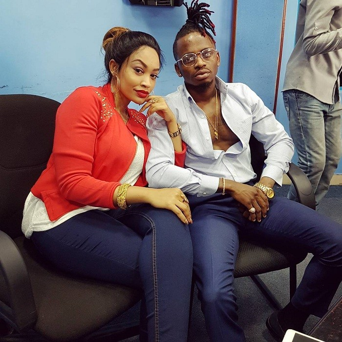 Image result for diamond platnumz and zari