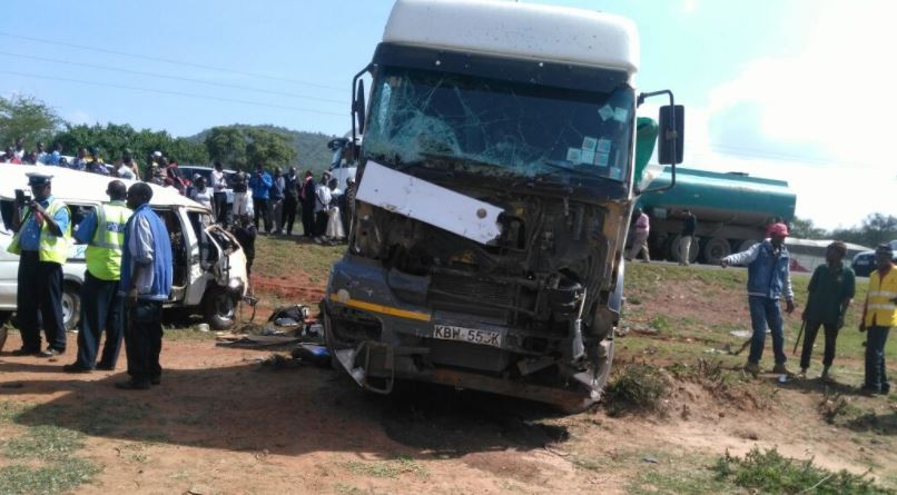 Seven Killed In Grisly Road Accident Along Mombasa Nairobi