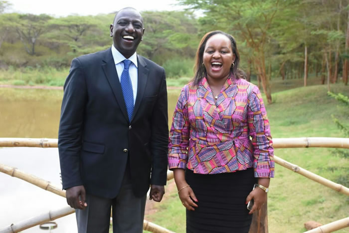 Image result for ruto waiguru