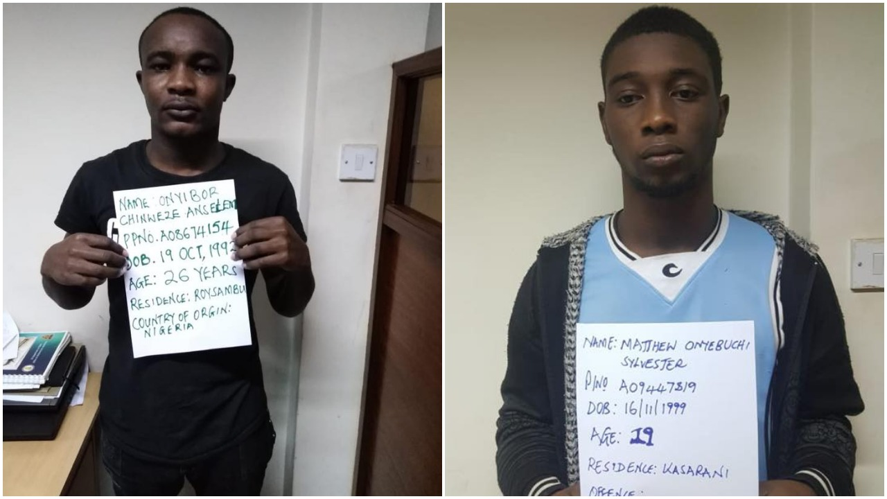 19 nigerians arrested in nairobi over facebook fraud mombasa