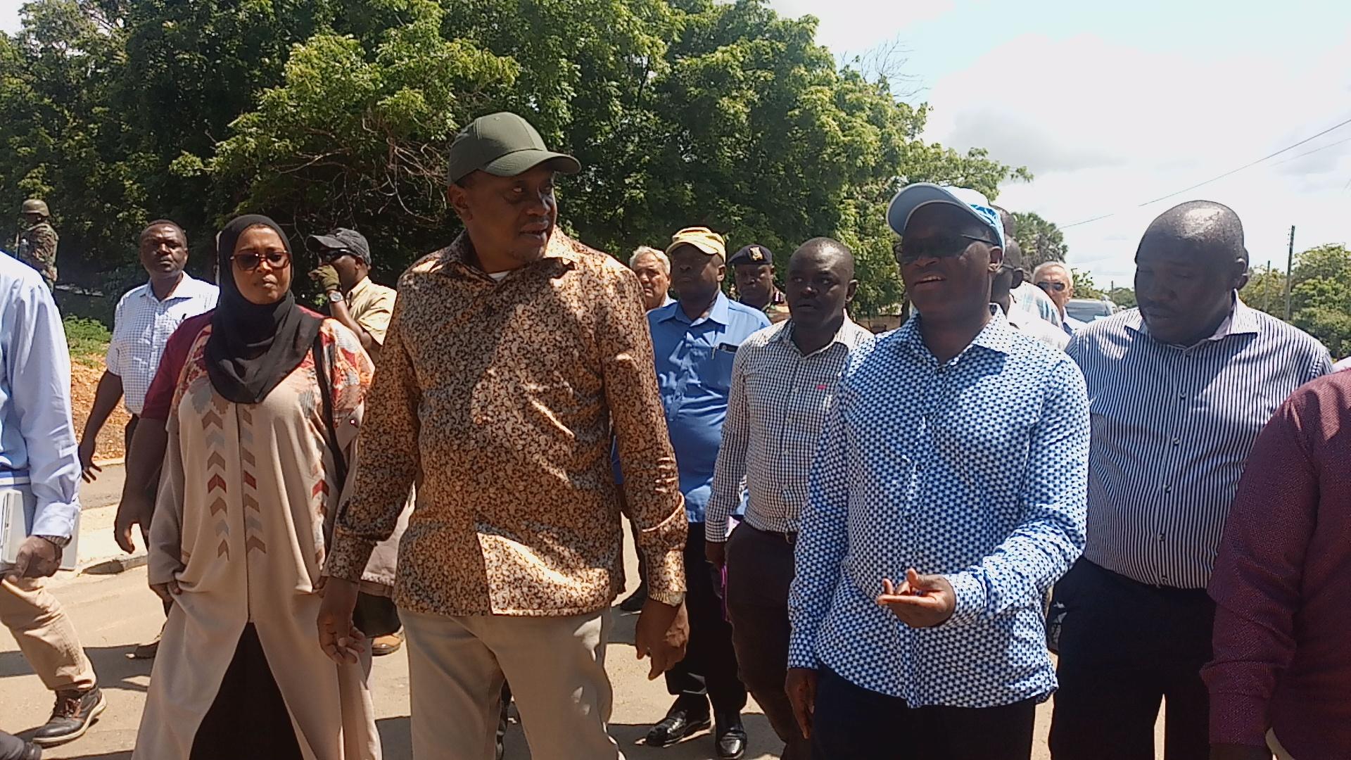 President in Lamu
