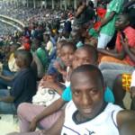 Kasarani Stadium selfie