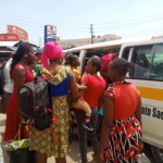 Stranded passengers in Mombasa