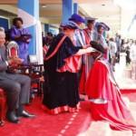 Ruto graduating at UoN