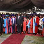 Uhuru at Ruto graduation