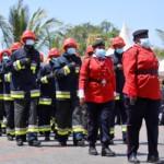 Mombasa firefighters