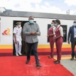 president uhuru kenyatta commuter rail