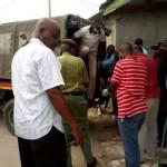 Police in Likoni